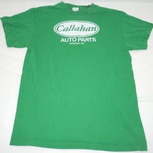 Callahan Auto Parts T-Shirt Medium Tommy Boy Green